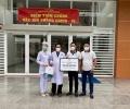 Công ty cổ phần Đông Tây Land trao 200 triệu đồng ủng hộ công tác phòng chống dịch Covid-19 cho Bệnh viện đa khoa khu vực Cần Giuộc