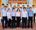 Lãnh đạo Ủy ban tỉnh và các Sở, ngành Tỉnh đến thăm Bệnh viện ĐKKV Cần Giuộc